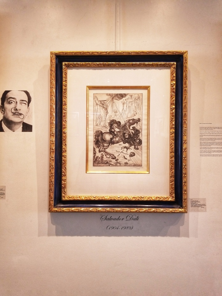 Salvador DALI - GALERIE MICHAEL – RODEO DRIVE - LA, CALIFORNIA - LOS ANGELES - ON DESIGN INTERIORS